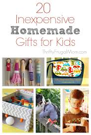 20 inexpensive homemade gift ideas for kids