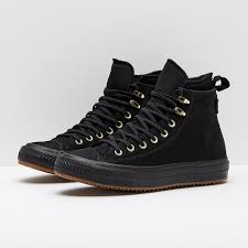 womens boots pro direct womens shoes converse chuck all wp boot hi black