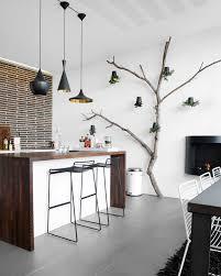 idee deco mur cuisine cuisine moderne pays idees de decoration
