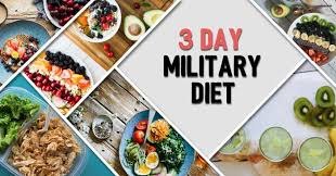 the 3 day military diet guide meal plan and results