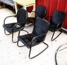 Metal Lawn Chair Vintage by Mid Century Vintage Metal Lawn Chair Shotts On Left And Logans On