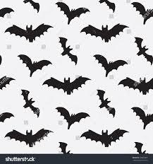 halloween bat silhouette pattern stock vector 328663865 shutterstock