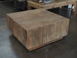 reclaimed wood square coffee table innovative reclaimed wood square coffee table country roads modern