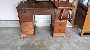 old desk flip how to make a piece of junk a jewel again splendry