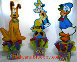 mickey mouse clubhouse centerpieces mickey mouse clubhouse birthday party decorations characte flickr