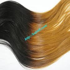1 inch of hair supplier ombre weave hair extensions 8 inch high quality