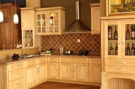 I Like The Natural Maple Kitchen Cabinets With Dark Inset In - Natural maple kitchen cabinets