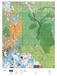 Arizona Blm Map by Arizona Gmu 21 Map Mytopo