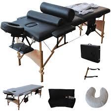 fold up massage table for sale goplus 84 l massage table set portable spa bed w sheet cradle
