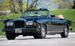 classic bentley convertible bentley continental convertible 1986 us wallpapers and hd images