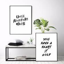 Bedroom Wall Framed Art Online Get Cheap Motivational Framed Art Aliexpress Com Alibaba