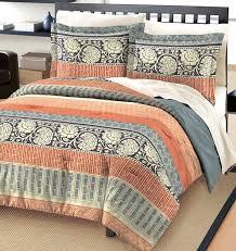 Amazon Com Furniture Set Covers - amazon com free spirit flora cotton comforter and sham set gray
