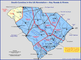 South Carolina rivers images South carolina in the american revolution the key roads and rivers jpg