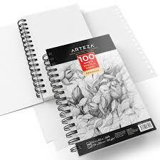 amazon com arteza sketch book pad 5 5x8 5