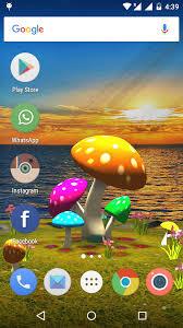 wallpaper 3d mushroom 3d mushroom sun live wallpaper app ranking and store data app annie