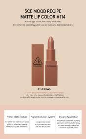 amazon com 3ce 3 concept eyes mood recipe matte lip color