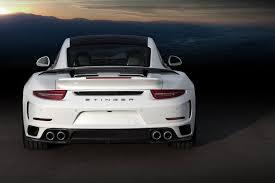 custom porsche 911 turbo porsche 911 turbo stinger gtr by topcar has 24k gold interior
