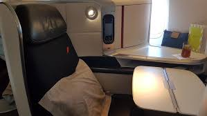 Air France Comfort Seats Flight Review Air France New Business Class B777 300 Er Paris To