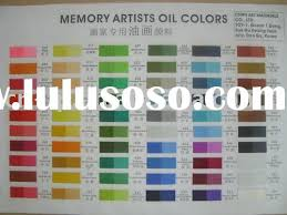 oil colour chart for sale price china manufacturer supplier 1572481