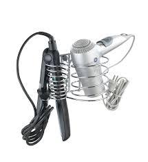 flat iron holder wall mount wenko 20648100 hair dryer holder and hair straightener holder