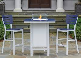 Bar Height Fire Table Category Telescope Casual Furniture