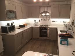kitchen cabinet lighting uk installing warm white led cabinet lighting in kitchen
