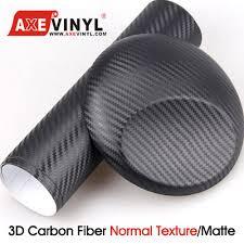 black matte wrapping paper carbon fiber vinyl comparison guide 2d 3d 4d 5d and 6d