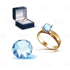 engagement ring boxes that light up gold engagement ring light blue shiny clear jewelry box
