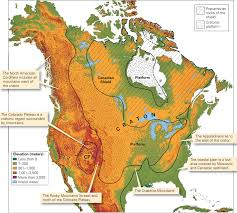 Appalachian Mountains Canada Map by March 2016 Learning Geology