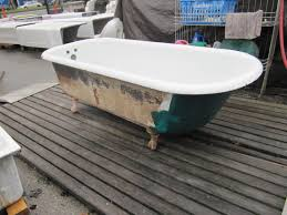 outside bathroom ideas bathroom painting the outside of your vintage clawfoot tub with