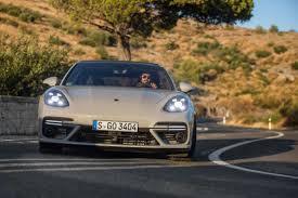 porsche panamera turbo 2017 back 2018 porsche panamera turbo sport turismo first drive rending