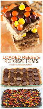 reese s rice krispie treats food folks and