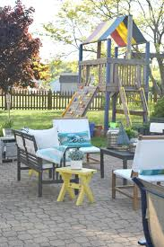 Kid Friendly Backyard Ideas by Summer Outdoor Home Tour U2022 Our House Now A Home