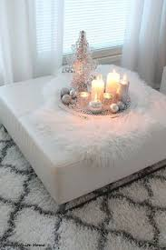 ottoman trays home decor ottoman decor with a tray and candles home is where the heart is