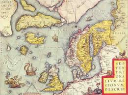 map of europe scandinavia the of st