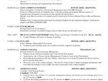 Mba Resume Example Hbs Mba Resume Sample Free Resume