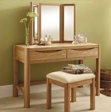 mirror design ideas claudette glass oak dressing table with