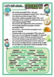 english teaching worksheets geography