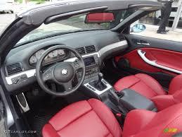 Bmw M3 Interior - imola red interior 2006 bmw m3 convertible photo 65773054