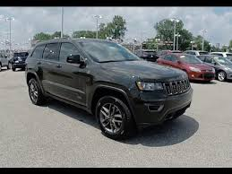 green jeep grand cherokee 2016 jeep grand cherokee laredo 75th anniversary edition 4x4 recon