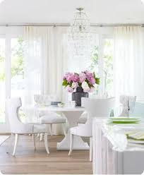 Best Dining Rooms Images On Pinterest Home Architecture And - All white dining room