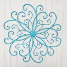 Rod Iron Home Decor Outdoor Wall Art Wall Decor Bohemian Metal Wall