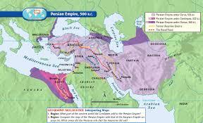 Persia Map Persian Empire 500 B C History Pinterest Empire