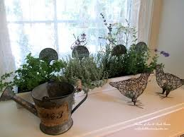 Kitchen Window Sill Decorating Ideas by Windows Diy Windowsill Herb Garden Decorating Kitchen Windowsill