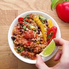 plats rapides à cuisiner weekday meal prep turkey taco bowls recettes cuisines et repas