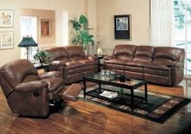 Leather Recliner Sofa And Loveseat Brown Leather Reclining Loveseat Foter