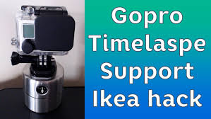 diy gopro timelapse support ikea timer ordning hack photography