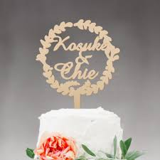 monogram wedding cake topper wedding cake topper monogram mr and mrs cake topper design wood