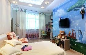 fresque murale chambre bébé design interieur fresque murale chambre enfant winnie ourson ciel
