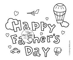funny father u0027s day coloring pages for kids fathers birthday